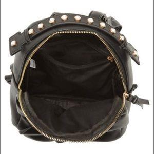 5b092fc1f7c3 OMG Bags - OMG imitation Pearl handle mini bow backpack black
